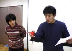 舞監のような山崎さん